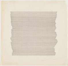 Agnes Martin, Untitled, 1960