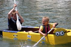 Our 2015 Cardboard Boat Regatta was a Blast! Boat Projects, Science Projects, Cardboard Boat Race, Eagle Lake, Boy Scouts, Event Planning, Boats, Homeschool, Racing