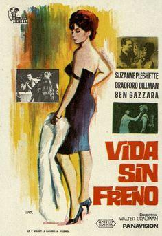 186. JANO. Vida sin freno. Dirigida por Walter Grauman. Valencia: Mirabet, [1965]. #ProgramasdeMano #BbtkULL #Diseñadores #Jano #DiadelLibro2014