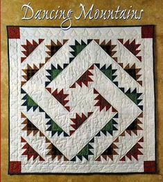 Details zu Dancing Umbrella Pieced Applique Laundry Basket Quilt Pattern - Fabric Crafts No Sew Patchwork Quilting, Scrappy Quilts, Mini Quilts, Half Square Triangle Quilts, Square Quilt, Quilting Projects, Quilting Designs, Quilting Ideas, Bear Paw Quilt