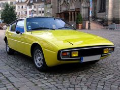 1976 Matra-Simca Bagheera , my neighbour in Appingedam bought a new one.he was not glad with it. We drove our Matra Fancy Cars, Retro Cars, Vintage Cars, American Graffiti, French Classic, Classic Cars, Harrison Ford, Matra Simca Bagheera, Bugatti