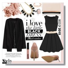 """""""SheIn #5"""" by cherry-bh ❤ liked on Polyvore featuring Bobbi Brown Cosmetics, Lipsy, Leith, Sheinside and shein"""