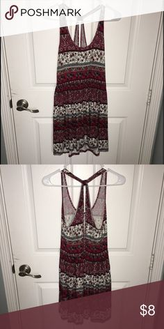 Cross Back Dress Soft material, perfect summer dress Forever 21 Dresses Mini