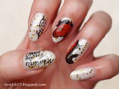 2014 chinese/vietnamese new year year of the horse nails