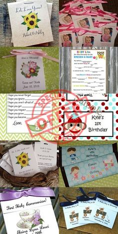 SULUGIFTSTEN | Spend $10 and get 10% OFF your order! Limited time offer. #personalized #party #favors #wedding #baby #shower #birthday #seed #packets #tea ➡️ https://www.etsy.com/shop/SuLuGifts?utm_campaign=products&utm_content=6c870fc347444a33be035d2a2fce72d4&utm_medium=pinterest&utm_source=sellertools