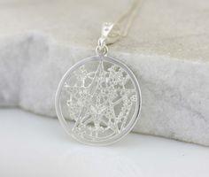 Sterling Silver Pentagram Silver Pentagram by Alyssasdreams