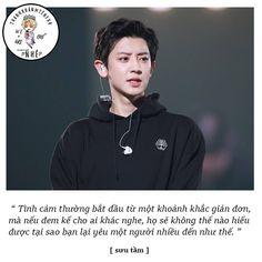 Đây là tác phẩm thứ 2 của mình sẽ liên quan đến EXO, cũng là hình ảnh… #thơca # Thơ Ca # amreading # books # wattpad Chanbaek, Exo Ot12, Park Chanyeol, Baekhyun, Girl Quotes, My Idol, Fangirl, Caption, Quotes About Girls