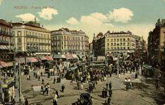 Puerta del Sol, 1920 Autor desconocido Museo de Historia, Madrid. Imágenes del viejo Madrid