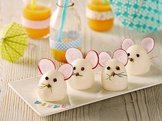 59 Trendy ideas for baby food finger fun Mouse Recipes, Baby Food Recipes, Snack Recipes, Healthy Recipes, Cute Food, Good Food, Awesome Food, Deco Buffet, Finger Fun