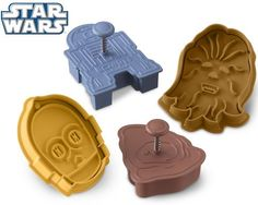 Star Wars™ Droids & Aliens Cookie Cutters, need these.
