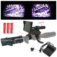 Click Image To Buy Hot Newest Hunting Optics Sight Carl Zeiss 4 16x40aomc Infrared Night Vision Riflescope With Battery Night Vision Night Sights Binoculars