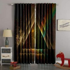 Printed Tom Clancy's Rainbow Six Siege Style Custom Living Room Cur – Westbedding 3d Curtains, Elegant Curtains, Drop Cloth Curtains, Custom Curtains, Colorful Curtains, Panel Curtains, Custom Bedding, Hanging Curtain Rods, Curtain Designs
