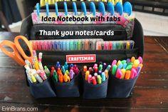 Kid's Crafts Organized Craftsman | Erin Branscom