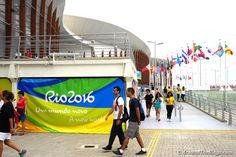 Outside Carioca Arena 1 (ATR)
