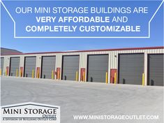 Mini Storage Outlet Supplier of Mini Storage Buildings, Self Storage Units and Storage Building Kits. We offer the Lowest Prices on Prefab Storage Buildings! Covered Rv Storage, Built In Storage, Storage Building Kits, Storage Buildings, Self Storage Units, Garage Shop, Warehouses, Steel Structure, Prefab