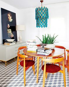 Chic apartment in Madrid via @mydomaine