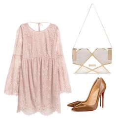 """Outfit #716"" by naleland on Polyvore featuring moda, Christian Louboutin i River Island"