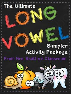 The Ultimate Long Vowel Activity SAMPLER from Mrs. Beattie's Classroom on TeachersNotebook.com - (11 pages) - The Ultimate Long Vowel Activity SAMPLER