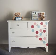 its pictured here for a little kid, but lets be honest, i would totally have this dresser.