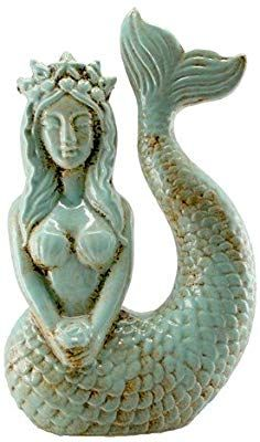 Mermaid Images, Mermaid Art, Mermaid Statue, Aqua Blue, Real Mermaids, Mermaids And Mermen, Mermaid Sculpture, Sculpture Art, Arte Coral