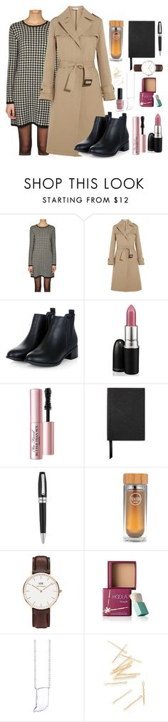 """#Ootd"" by luludedid on Polyvore featuring Ralph Lauren, Jil Sander, MAC Cosmetics, Too Faced Cosmetics, Smythson, Montegrappa, Daniel Wellington, Benefit, Bridge Jewelry and women's clothing"