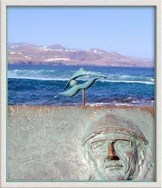 Calypso:Jacques-Yves Cousteau. Playa de Las Canteras. Gran Canaria.