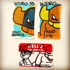 EL Toro - #graffiti #sticker