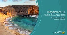 Sorteo de un vuelo a Lanzarote de Iberia Express #sorteo #concurso http://sorteosconcursos.es/2016/07/sorteo-de-un-vuelo-a-lanzarote/