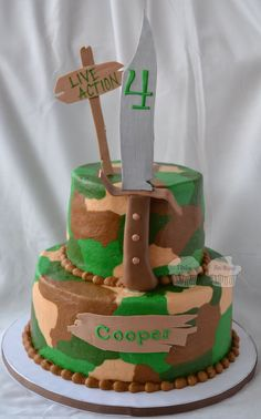 Turtleman cake