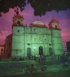Oaxaca Valley by sunset