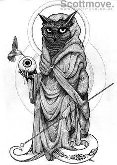 Snake-owl