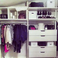 open closet - IKEA Stolmen