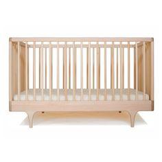 Kalon Studios Lit bébé Caravan - Naturel : 1199.00$