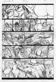 Gleidson Araujo: Sample page ( Superman )