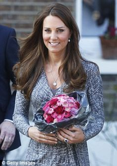 The Duchess of Cambridge wearing Asprey jewels