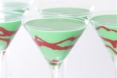 Holiday Grasshopper Cocktail — Recipe from Tablespoon (not the frozen grasshopper - more a martini style)