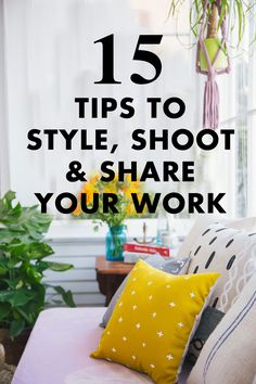 styling, photography and social media tips! #StyleItShootItShareIt