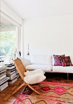 The living room should be a place where we feel totally at ease - temple of the soul.