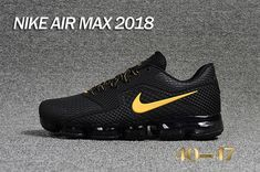 Nike 2018 Dispensing 5 generations Nike Air VaporMax 2018 5 Generation Dispensing Nanotechnology New Air cushion 40-47-10519951 Whatsapp:86 17097508495 Nike Air Max Tn, Nike Air Vapormax, New Nike Air, Air Max Sneakers, Sneakers Nike, Black Gold, Max Black, Adidas, Nike Kicks