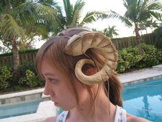 Large Succubus Horns by KantiKane on Etsy, $85.00