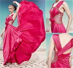Шикарные вечерние платья:)