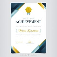 More than a million free vectors, PSD, photos and free icons. Exclusive freebies and all graphic resources that you need for your projects Certificate Of Appreciation, Certificate Of Achievement, Certificate Design Template, Letterhead Design, Flyer, Disney Wallpaper, Card Designs, Layout Design, Vector Free