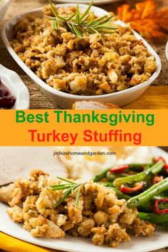 This Easy Thanksgiving Turkey Stuffing Recipe I have ever had.I hope you enjoy this Thanksgiving turkey stuffing recipe as much as me and my family. Easy Stuffing Recipe, Stuffing Recipes For Thanksgiving, Thanksgiving Side Dishes, Thanksgiving Turkey, Turkey Recipes, Side Dish Recipes, Favorite Recipes, Healthy Recipes, Profile