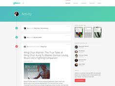 Gibbon Activity Feed by  Wouter de Bres