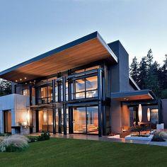 Wooden Main Door Design, Main Gate Design, Yellow Kitchen Decor, Home Decor Kitchen, Villa Design, Modern House Design, Home Interior Design, Exterior Design, Ideal Home