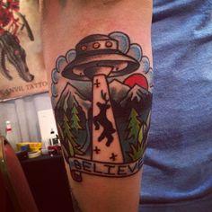 By Joel Janisyzn at Black Anvil Tattoo; Fort Wayne, IN.