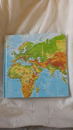 New atlas notebook from Tiger will give me a sense of perspective