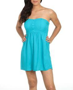 Shop the Challis Button Tube Dress: http://www.wetseal.com/catalog/product.jsp?categoryId=111=217=55616