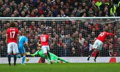 This was the moment Rooney gave United the lead from the penalty spot