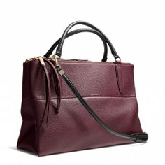 Coach Borough Bag in pebbled leather